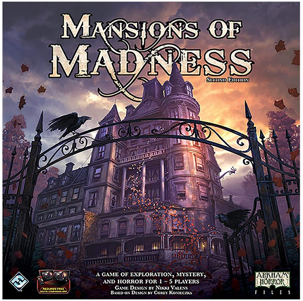 mansions of madness haunted house board game