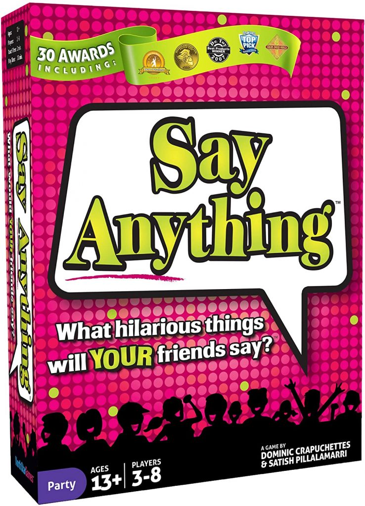 Say Anything Travel Card Game