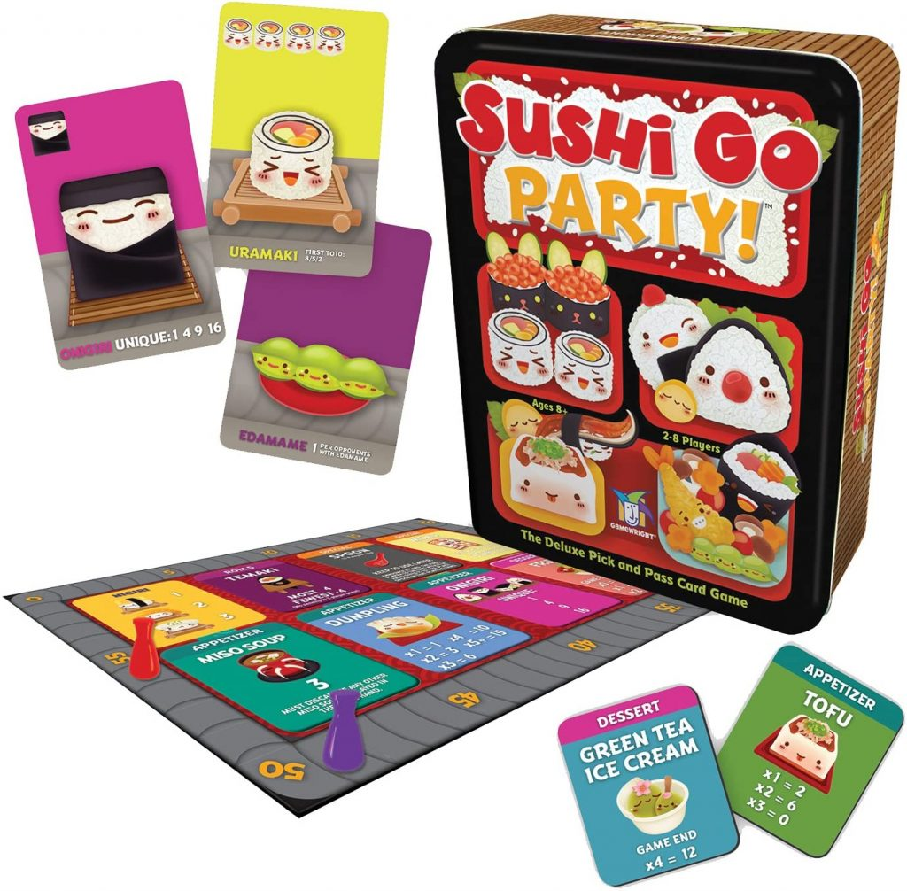 Top Pick Sushi Go Party