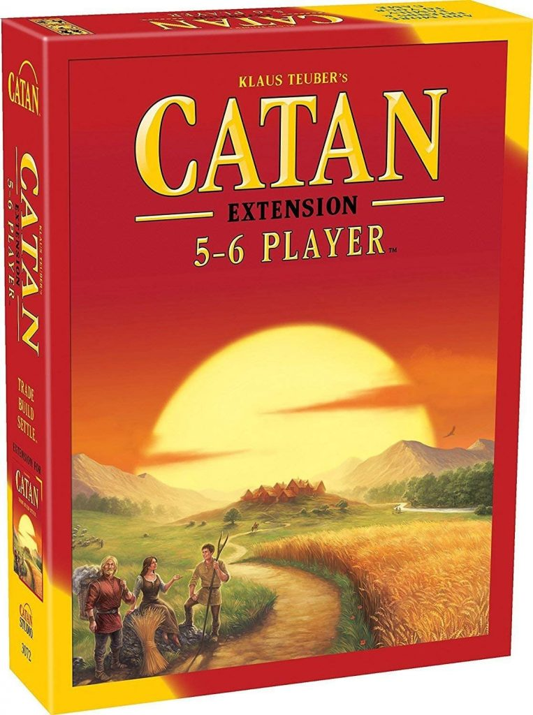 Catan 5 to 6 player extension