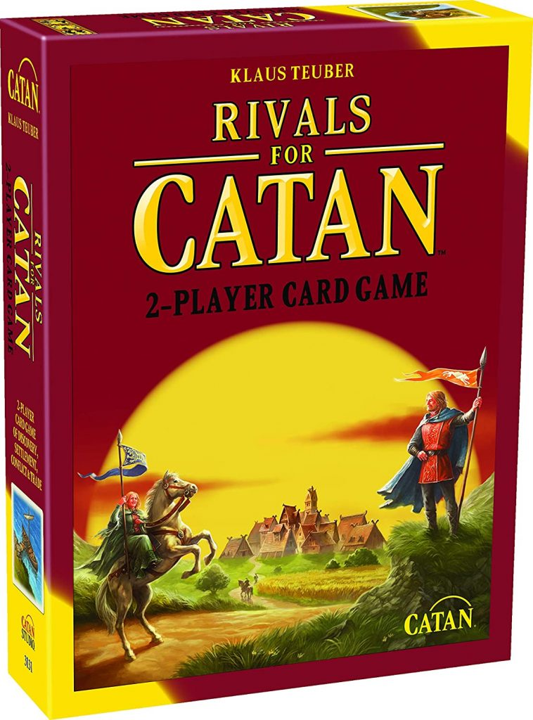 Rivals for Catan for valentine's day board games