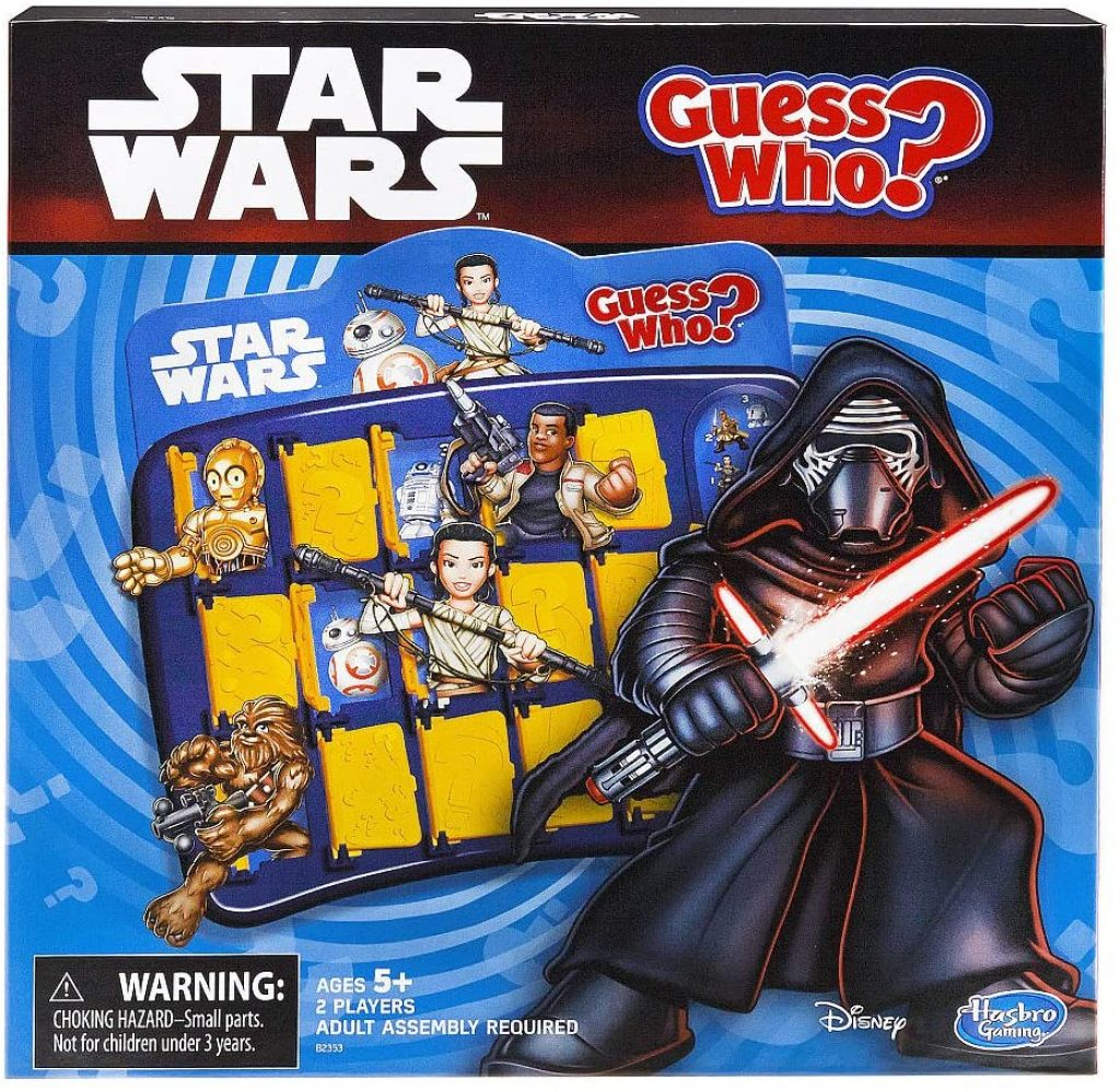 Guess Who Star Wars Board Game