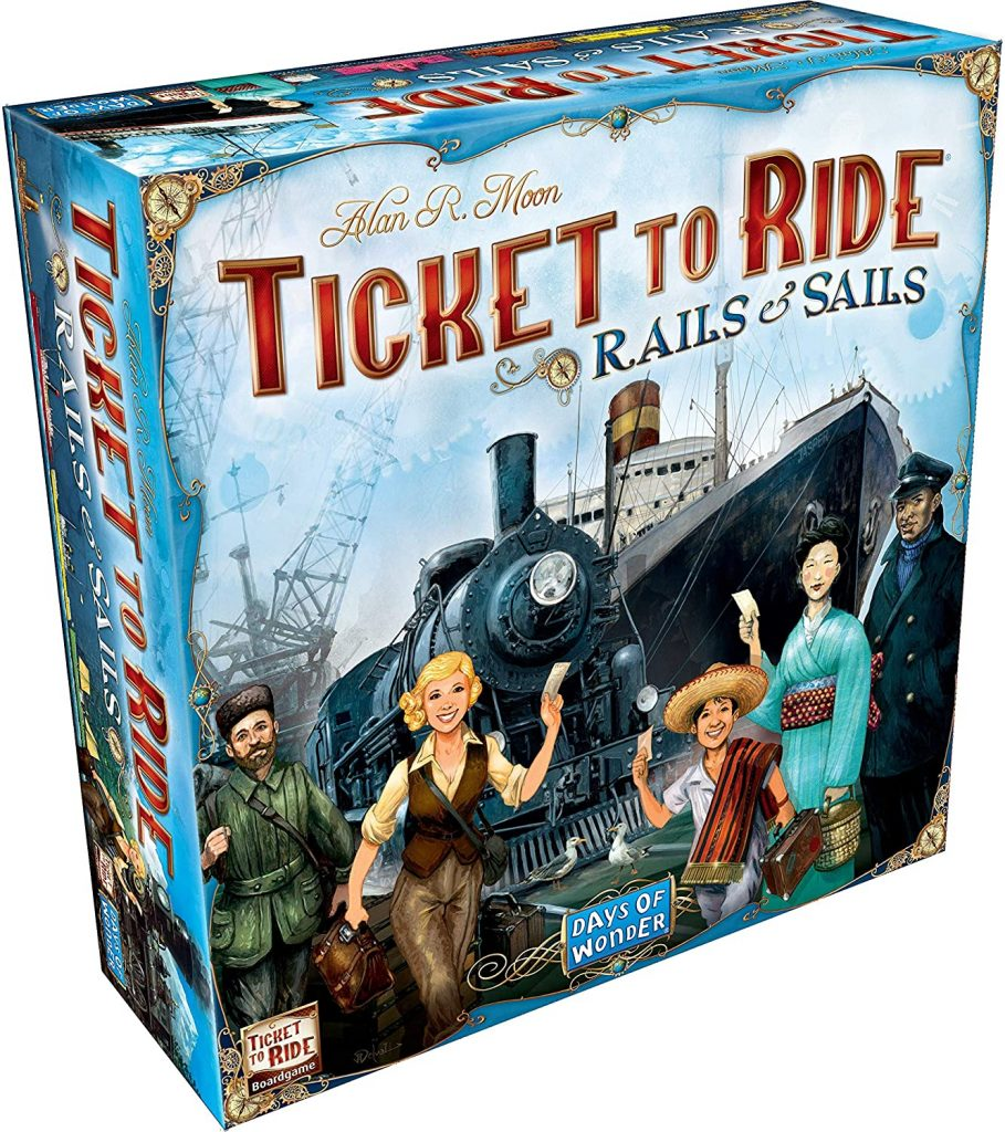 Ticket to Ride Rails and Snails