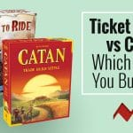 Ticket to Ride vs Catan