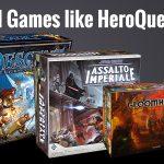 18 Board Games Like HeroQuest