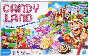 Candy Land Hasbro Board Game