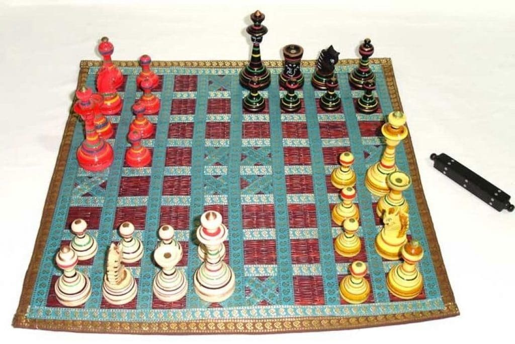 chaturanga historical board game