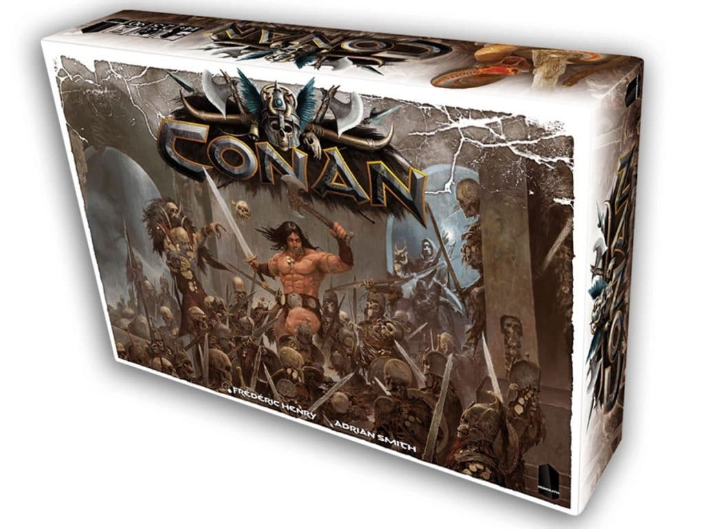 conan board game box cover