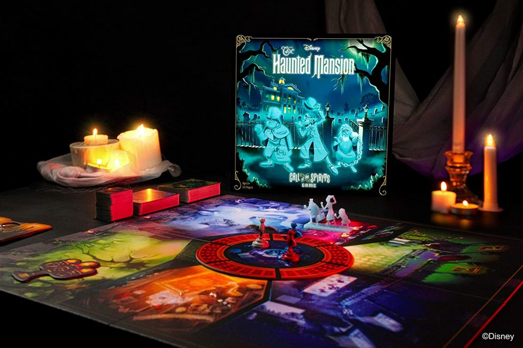 Disney's Haunted House Box Contents