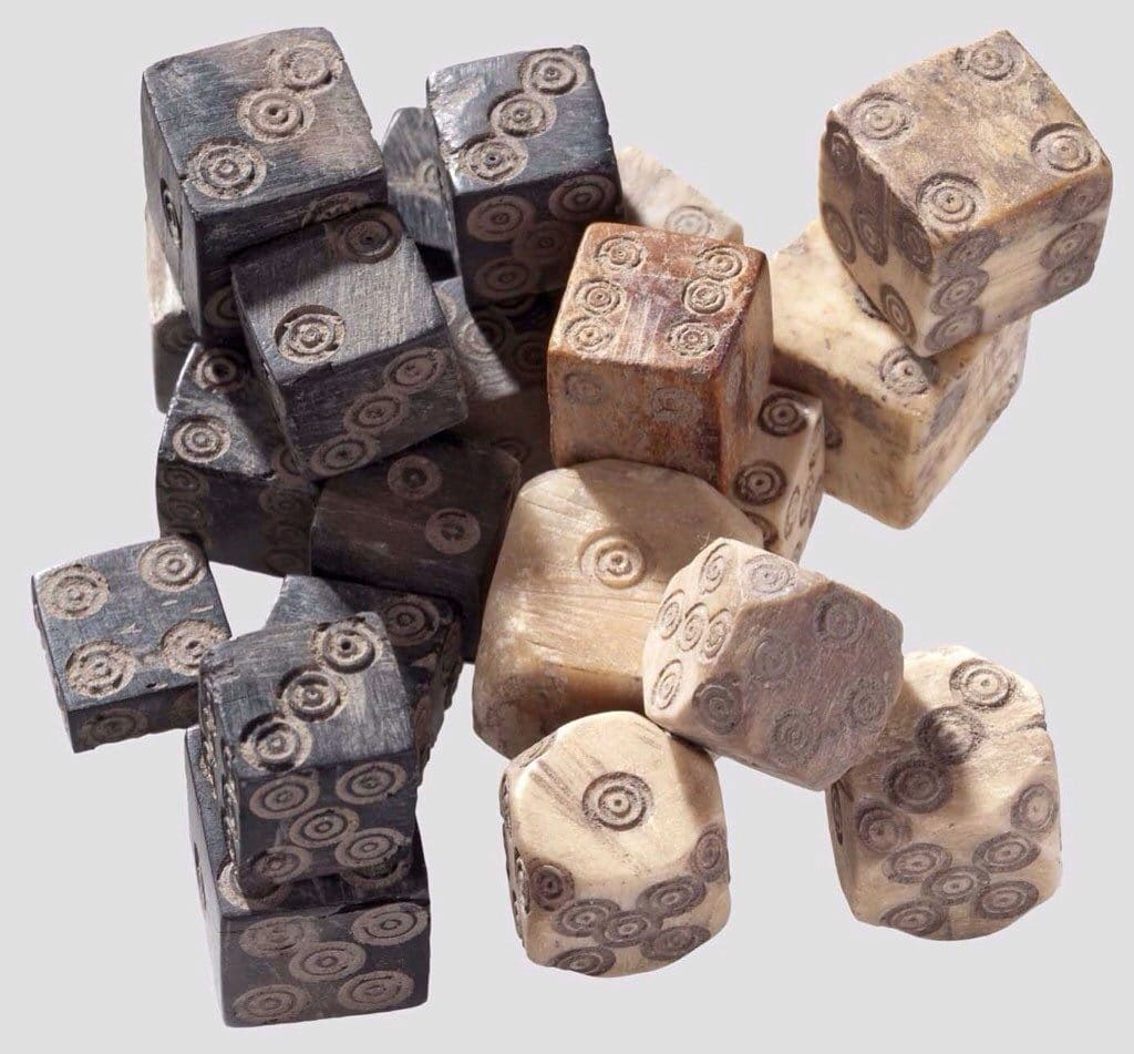 Historical Dice Set