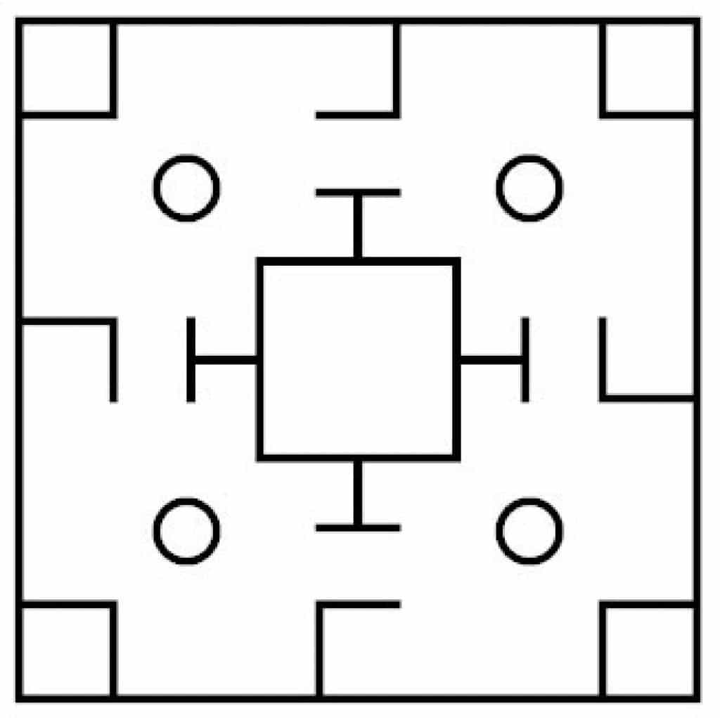 pattern in liubo game