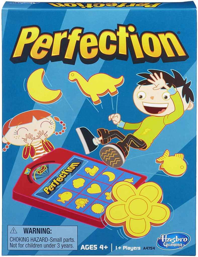 Perfection Board Game for Preschoolers