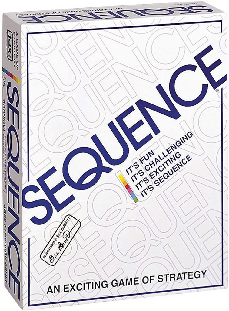 Sequence Original Board Game