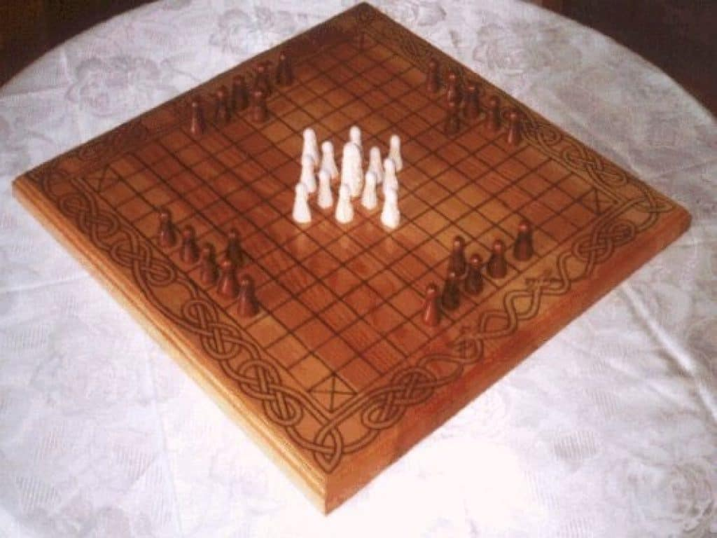 tafl historical board game